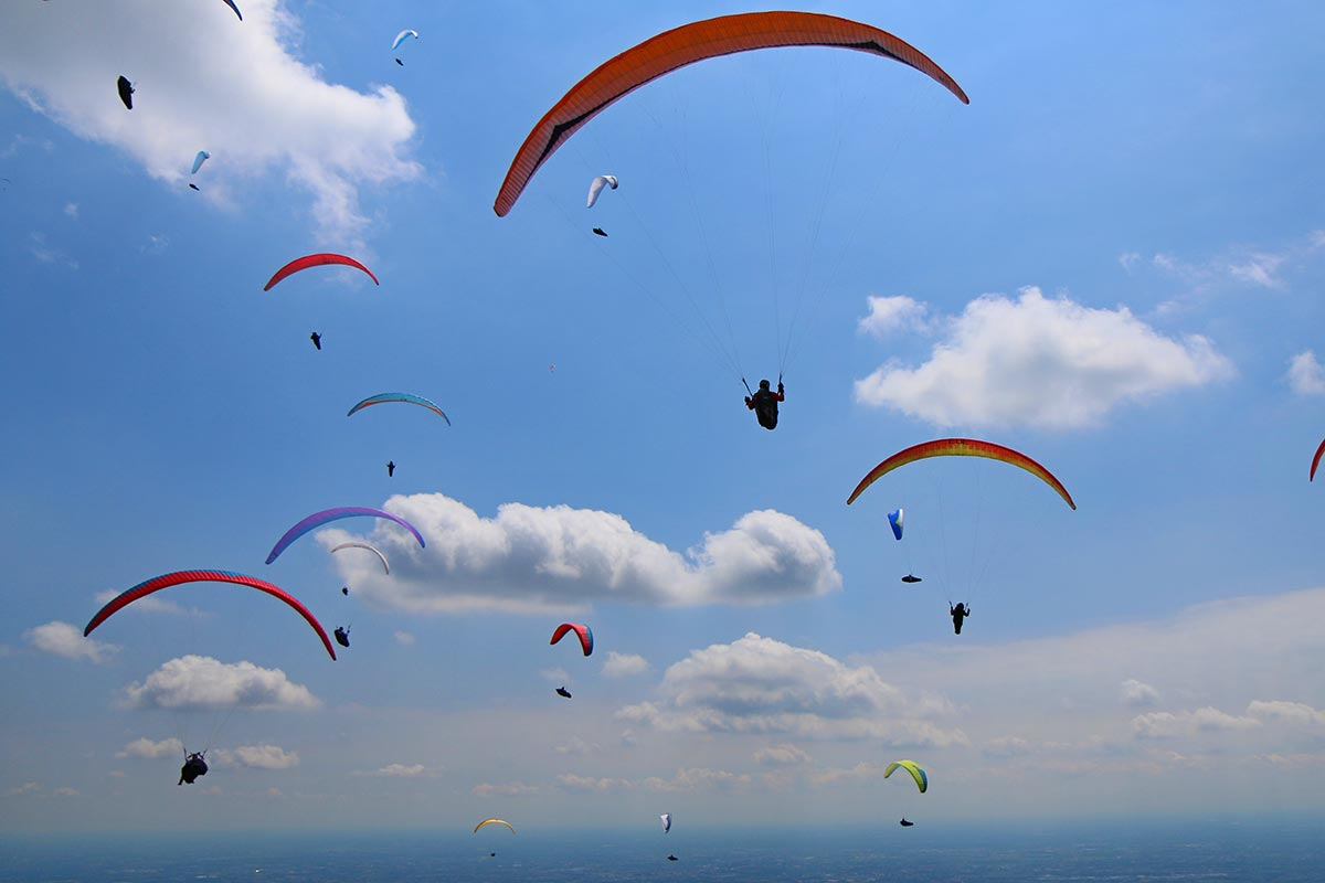 Monte Grappa Paragliding holiday